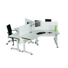 Altitude Height Adjustable Desk provides a range that is designed to offer an innovative solution for all work environments and individual ergonomic requirements.  Altitude offers the choice of different foot profiles and can achieve a height adjustment range of 400mm, from 610mm to 1010mm, when using a 25mm thick worktop.