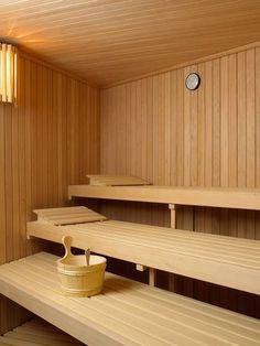 Saunas, Spa, Sauna Seca, Sauna Room, Steam Room, Sweat It Out, Jacuzzi, Villa, Shelves