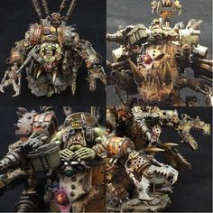 The Internet's largest gallery of painted miniatures, with a large repository of how-to articles on miniature painting Warhammer 40k Figures, Warhammer Models, Warhammer 40k Miniatures, Warhammer 40000, Warhammer Art, Paint Schemes, Color Schemes, Minis, Orks 40k