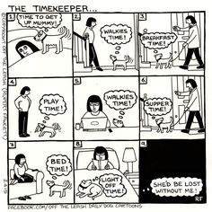 The Timekeeper #offtheleash