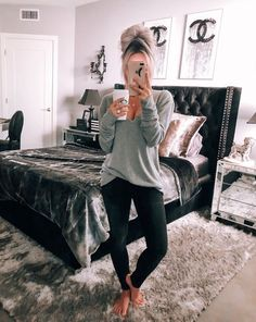 """Love, love, love this sweater from Nordstrom. Got it in a size Medium for a more oversized fit. Sweater, phone case, and headboard linked http://liketk.it/2ui5q You can also access all @liketoknow.it photos on my blog without having to sign up! You can find it under """"The Shop"""" #liketkit"""