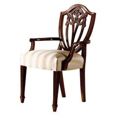 Hekman Copley Place Decorative Back Dining Arm Chair - 22521