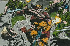 Sangue, areia e garras, Wolverine na guerra civil espanhola