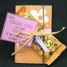 I just found my thank you gift for B's teachers!