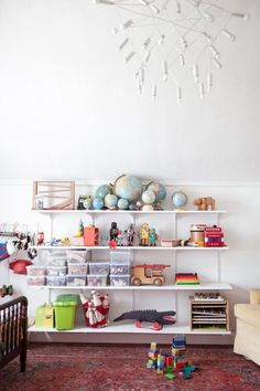 Kids Room 'Shelfspiration': 5 Rooms That Do It Right | Apartment Therapy
