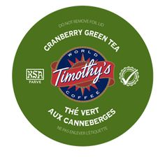 Cranberry Twist Green Tea by Timothy's® - Keurig.com