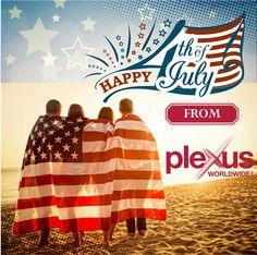 Happy 4th of July!  www.plexuspreferred.com #plexusslim