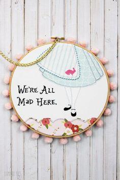 Wonderland Embroidery Hoop Set