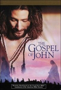 """The entire book of John, verbatim.  If it's not in the Bible, it's not in the movie.  Henry Ian Cusick played a strong Jesus, not a """"gentle-Jesus-meek-and-mild.""""  The production was awesome."""