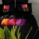 Found it at Wayfair - Tulipani 6 Pieces Duvet Cover Set