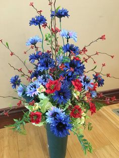 Cemetery Flower Arrangement Cemetery by McCraeKidstonDesigns