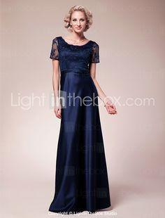 2c927d038e Lanting Bride® Sheath   Column Plus Size   Petite Mother of the Bride Dress  Floor