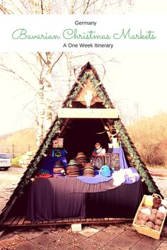 The Big 5 Bavarian Christmas Markets – A One Week Itinerary German Christmas Markets, Christmas In Europe, Christmas Travel, Christmas Vacation, Holiday Travel, Holiday Fun, Holiday Ideas, European Destination, European Travel