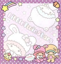 Kawaii memo paper - Little Twins Stars - Sanrio