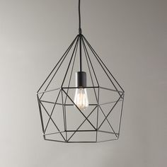 Young House Love Geometric Diamond Lantern