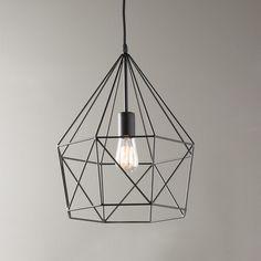 Young House Love Geometric Diamond Lantern
