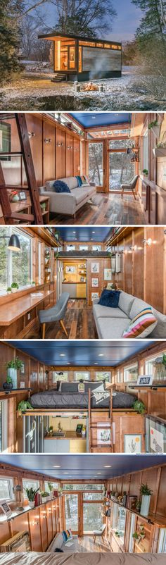 A tiny house designed for best-selling author Cornelia Funke
