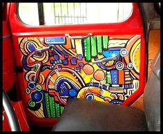 paneles de jeep, pintura acrílica. https://www.facebook.com/GoodLifePinturas