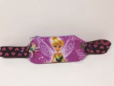 Insulin pump pouch / tinkerbell print by Touch1Diabetic on Etsy
