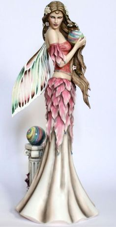 Fairy garden statue love it my dark side Pinterest