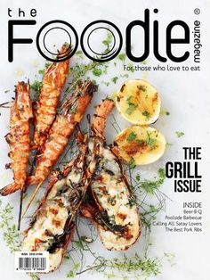 The FOODIE Magazine May 2015  THE GRILL ISSUE  Saturdays were always grill days at our household. I was charge with prepping the veggies and starting the grill. Definitely we would have grilled liempo, pork belly, marinated in salt and pepper, kalamansi and some Sprite! Placed on the hot grill, I loved the smell of the fat rendering over the hot charcoal. Sometimes we would have grilled milkfish, the monger would carefully slice the backs of the fish to create a cavity, in it went chopped…