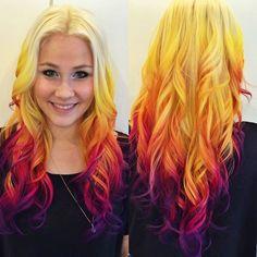 Elle Martens hair colour using Manic Panic!