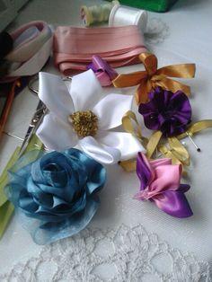 Çiçekler Yapıyorum
