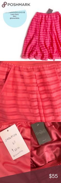 New with Tags Anthropologie Skirt New Anthropologie skirt by Mauve. Size tag is no longer attached only retail tag 🚫No Trades🚫 Due to the light and screen setting difference, the item's color may be slightly different from the pictures. Free People Skirts