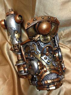 Steampunk Armor Cosplay Bracer