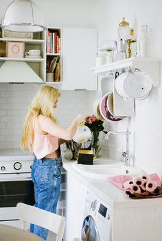 Haleigh Chastain Walsworth's Paris Apartment Tour #theeverygirl