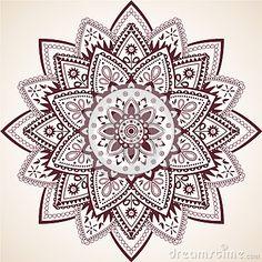 Beautiful Mandala Decor Vector Element
