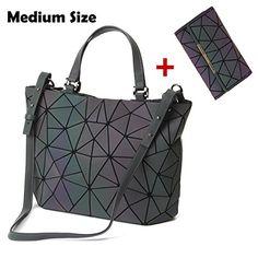 Amazon.com  HotOne Geometric Luminous Purses and Handbags Shard Lattice  Holographic Purse Fit 14