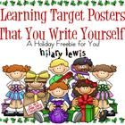 I don't know about you guys, but trying to keep up with displaying my learning targets/standards is killing me! I have bought several different pac...