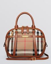 $1,495 - Burberry Check Sartorial Orchard Satchel 100% Authentic
