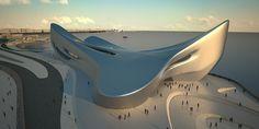 zaha hadid project 3D simulation - Google Search