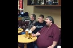 It's a video that in many ways sums up what it means to be Welsh. Where else would a pub or club fall silent and impeccably observe a rendition of a moving Welsh song?