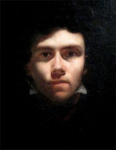 Eugène Delacroix · Autoritratto · 1816 · Musée des Beaux-Arts · Rouen .