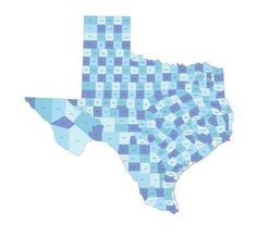 There are over two hundred counties in Texas.    テキサスには200以上の郡がある。