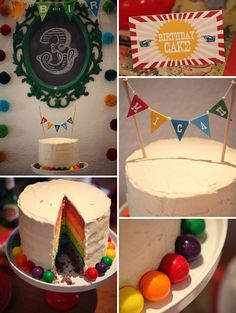 Awesome colorful birthday party -- great food inspiration at blog post, too.