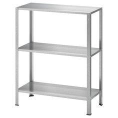 IKEA - HYLLIS, Shelf unit, indoor/outdoor, Suitable for both indoor and outdoor use. The included plastic feet protect the floor against scratching. This shelf must be fastened to the wall. The back panel has predrilled holes to make it easier. Ikea Mulig, Ikea Bekvam, Ivar Regal, Rolling Storage Cart, Rolling Shelves, Open Shelves, Recycling Facility, Ikea Family, Hemnes