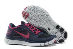 Vrouwen Nike Free Run 3 Schoenen Donker Blauw Roze benadrukt de natuurlijke beweging van de voet en zorgt voor een unieke sfeer, gecombineerd met de demping, tractie en voetzool bescherming. De flexibiliteit zorgt voor comfort op de vlucht, terwijl rond te lopen. Vrouwen Nike Free Run+ 3 ontwerpt lichtgewicht en super flexibel kan brengen ons een kind loopt op blote voeten gevoel.
