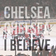 Because it's the playoffs.    Because it's the greatest sport on Earth.    Because it's the Cup.