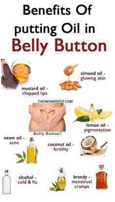 Belly button remedies