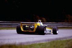 1980 British Grand Prix, Renault RE20, Rene Arnoux