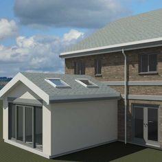 Hub - Snug Extension - modern, modern house extensions, garden studios and contemporary porches