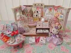 Sylvanian Families Decorated Wedding Dress Shop & Dressmakers Sewing Set + More | eBay