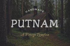 Putnam Typeface by Josh O. on @creativemarket