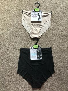 2 X M/&S LIMITED SIZE 18 OR 20 NAVY GREEN BRAZILIAN MESH STRETCH BRIEFS FREE POST
