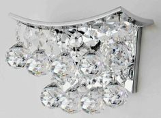 Traditional crystal wall light B681 Lampister