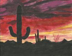 Arizona Sunset by HaleyGottardo